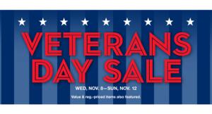 Macy's Veteran's Day Savings Pass
