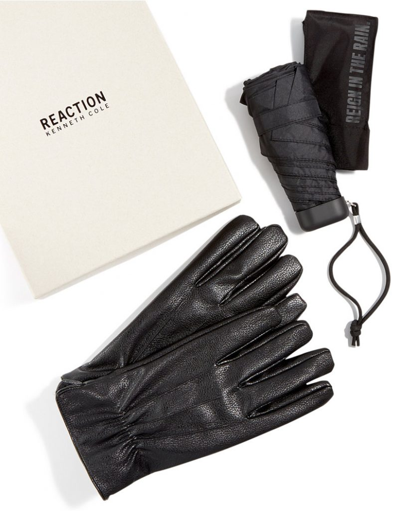 kenneth-cole-leather-gloves