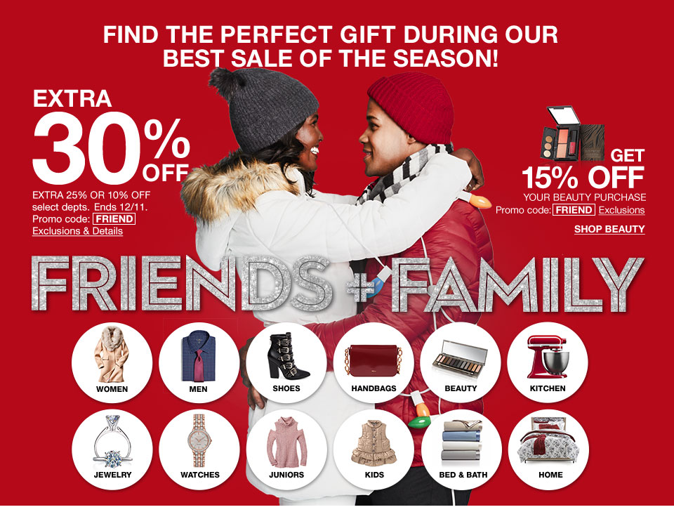 What Makes the Macy's Friends & Family Sale Special