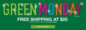 What-is-green-monday-macys