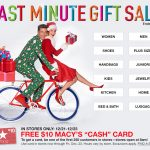 Free Macy's Cash Card