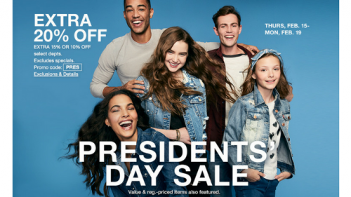 Insider Scoop_ Macy's Presidents' Day Sale {February 2018}