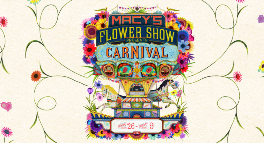 Macy 39 s flower show magic style shop - Chicago flower and garden show 2017 ...