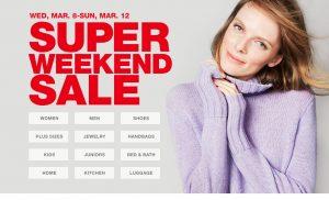 march-super-weekend-sale