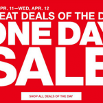 Insider Scoop: April One Day Sale