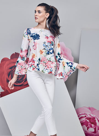 womens-floral-shirts-white-pants
