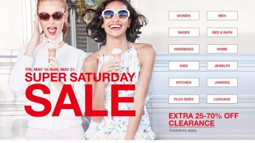 Super Saturday Sale