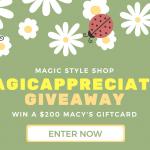 $200 #MagicAppreciation Giveaway