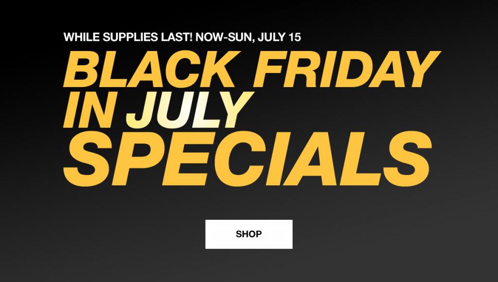 Macy's Black Friday in July!