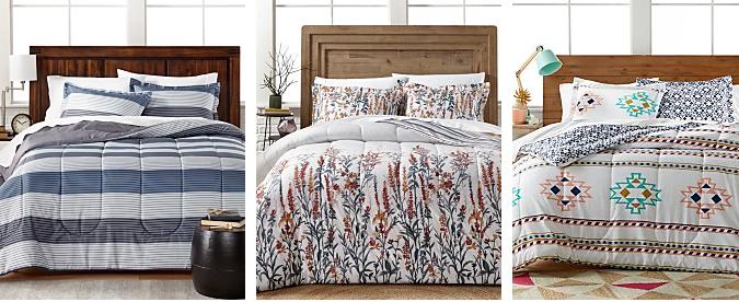 Four 3 Pc Comforter Sets Under 20 Magic Style Shop