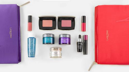 Don't Miss Your FREE Lancôme 7 Piece Beauty Set