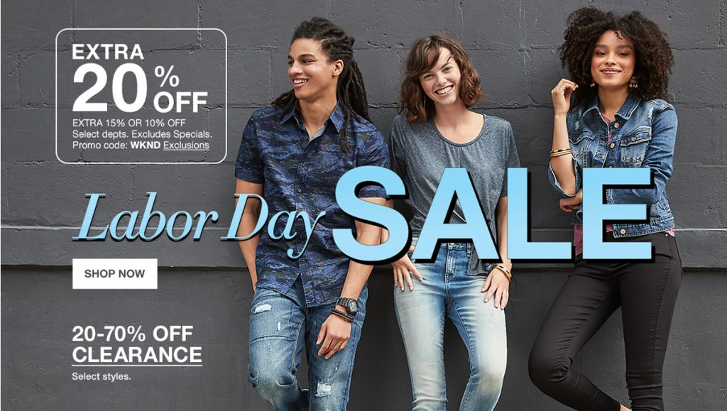 Get a Jump Start on Macy's Labor Day Sale