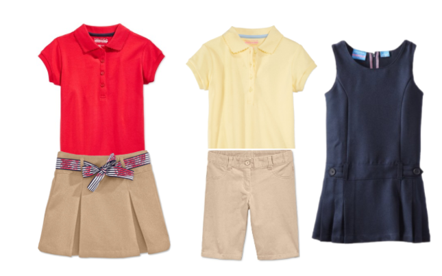 girls' nautica school uniforms