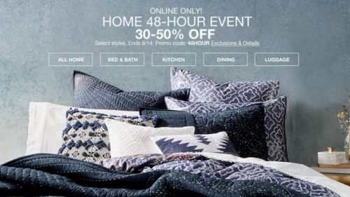 Don't Miss the 48 Hour Home Sale!