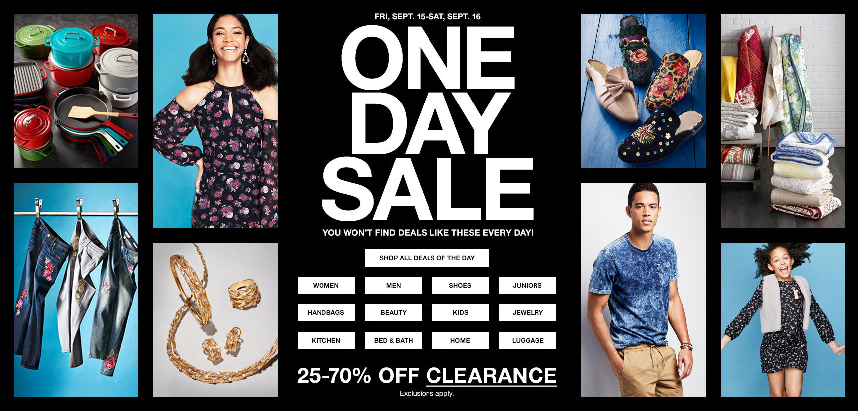 Macys One Day Sale September 2017