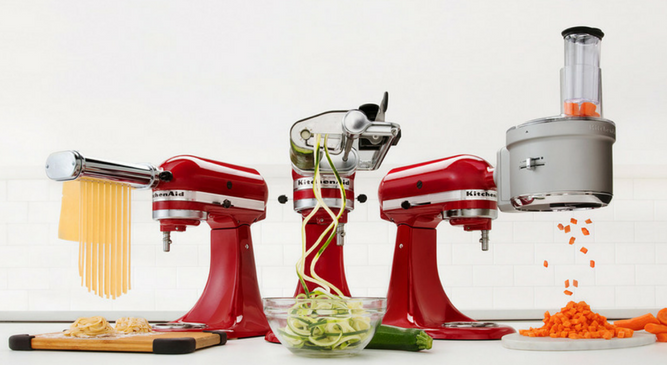 Stand Mixer Attachments as low as $7.99!