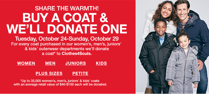 Buy a Coat Donate One