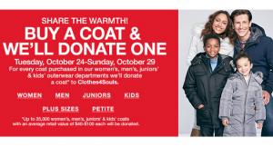 Buy a Coat Donate a Coat
