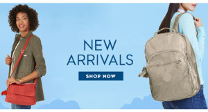 Enjoy 25-30% off select handbags from Kipling