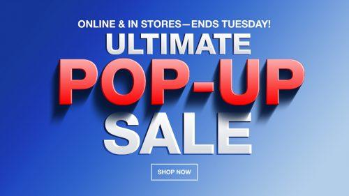 Macy's Ultimate Pop-Up Sale 2018 {Today's Deals}