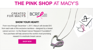 The Pink Shop at Macy's