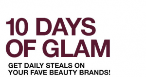 beauty deal 10 days of glam