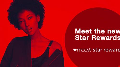 new Macys Star Rewards