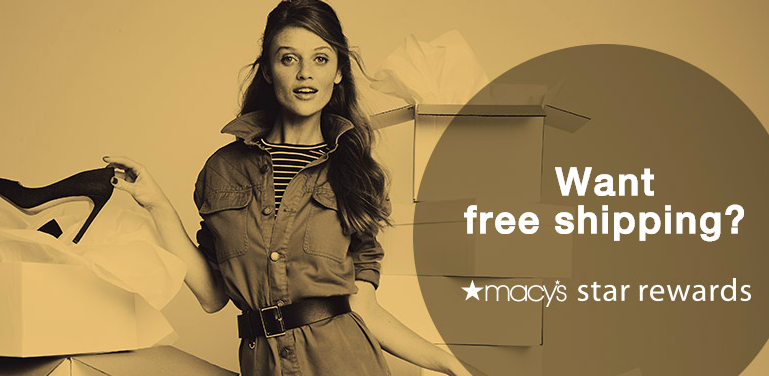 macys star rewards benefits free shipping