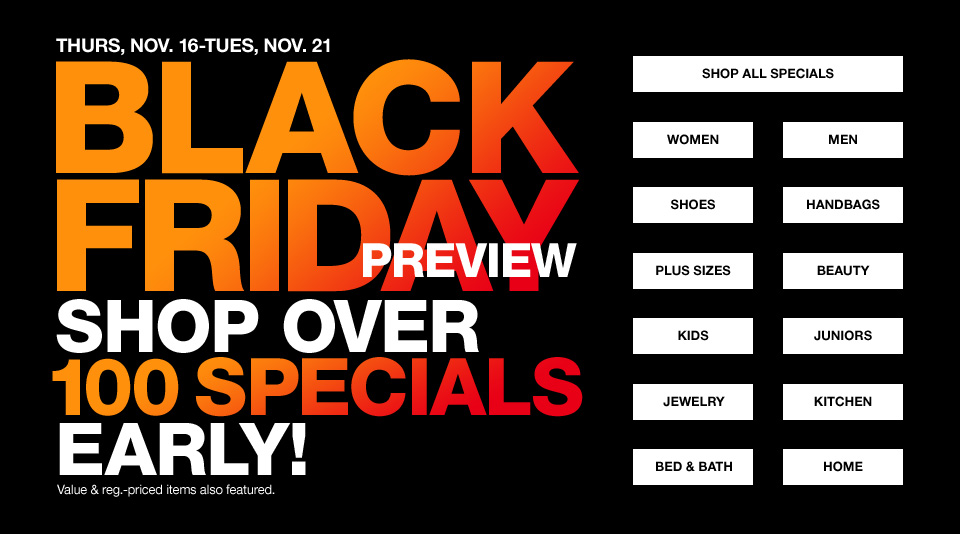 Macy's Black Friday Sneak Peek