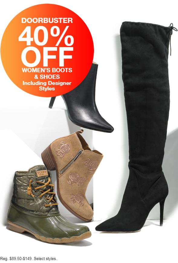 Macy's Black Friday Sneak Peek- Boots