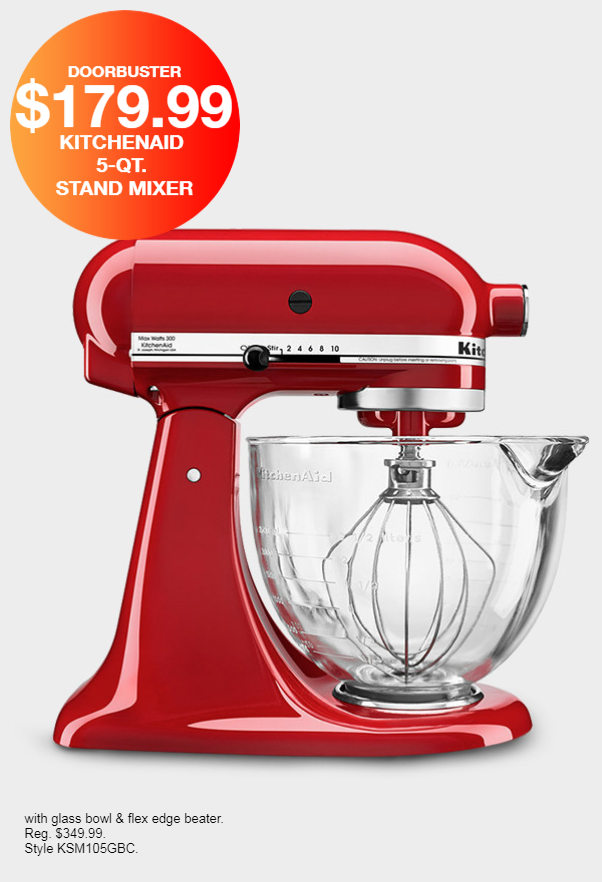Macy's Black Friday Sneak Peek- Stand Mixer