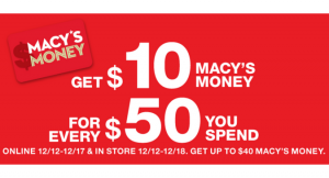 Macy's Money_ Earn up to $40 in Reward Cards!