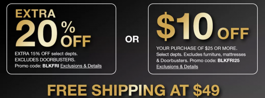 Macy's Black Friday Sale is Here!