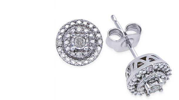 Macy's Black Friday Diamond Earrings