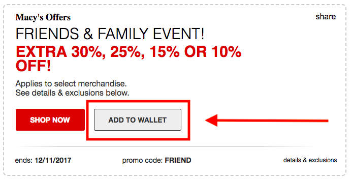 macys friends family coupon