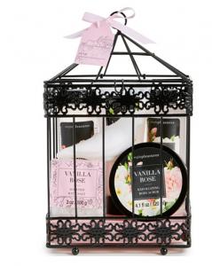Birdcage-Inspired Bath Set