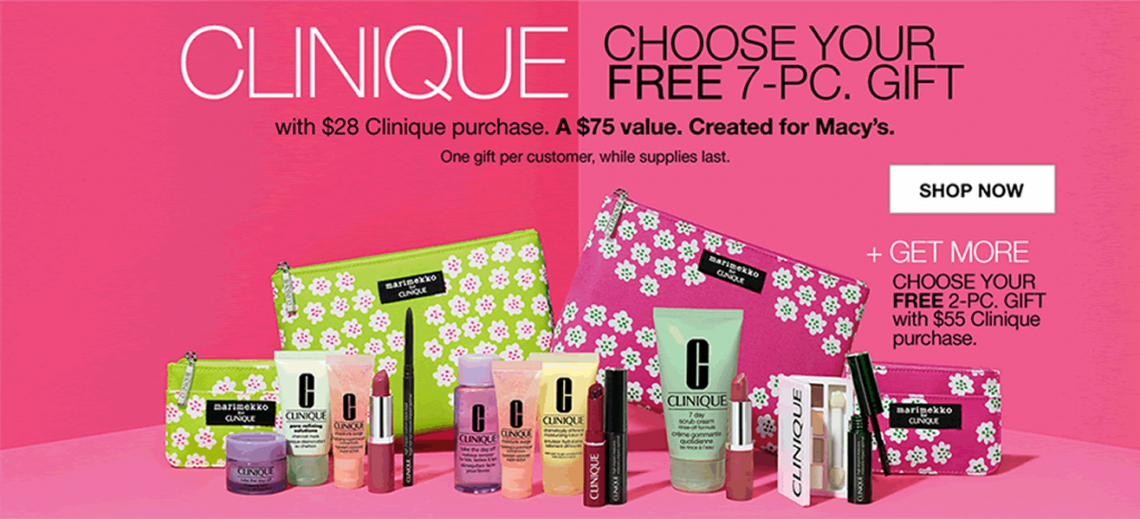 Free Clinique Gift