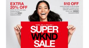 Macy's Super Weekend Sale