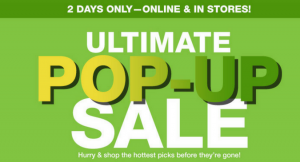 Macy's Ultimate Pop-Up Sale