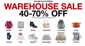 Macy's Warehouse Sale