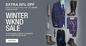 Shop Macy's Winter Weekend Sale TODAY!