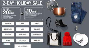 Two-Day Holiday Sale (with 2 Ways to Save!)