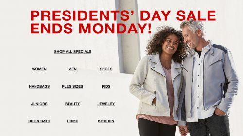 Insider Scoop Macy's Presidents' Day Sale {February 2019}