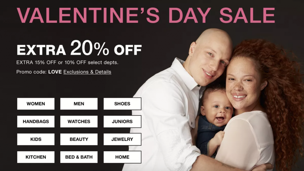 Macy's Valentine's Day Sale