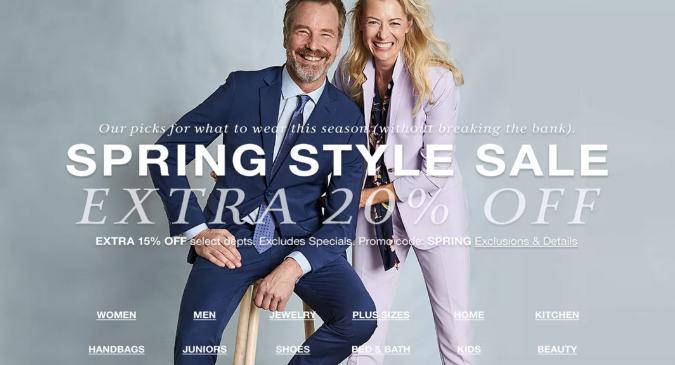 Macy's Spring Sale