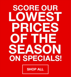 Macy's Sales Sign