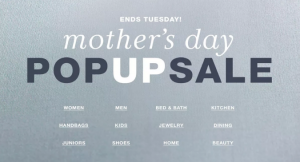 Macy's Mother's Day Pop-Up Sale
