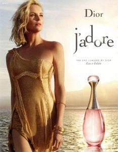 Dior J'adore, Charlize Theron