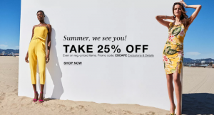 Macy's Almost Summer Sale