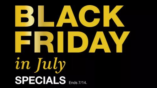 Macy's Black Friday in July